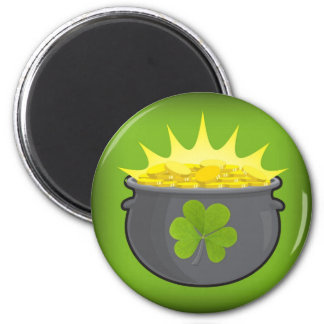 Happy St. Patrick's Day! Magnet