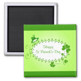 Happy St Patrick's Day Magnet
