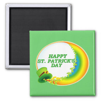 Happy St. Patrick's Day Magnet