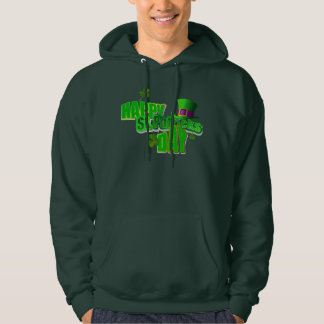 Happy St. Patrick's Day Men's Pullover Hoodies
