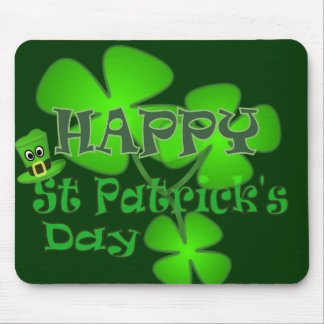 Happy St Patricks Day Mouse Pad