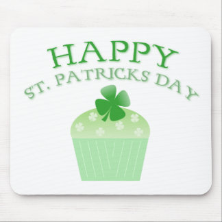 Happy St. Patrick's Day Mouse Mat