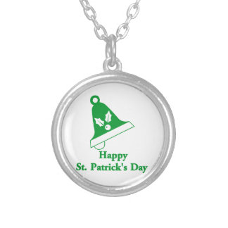 Happy St Patrick's Day Personalized Necklace