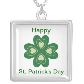 HAPPY ST. PATRICK'S DAY NECKLACE