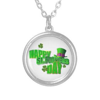 Happy St. Patricks Day Necklace