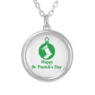 Happy St. Patrick's Day Necklaces