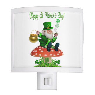 Happy St. Patrick's Day Night Light