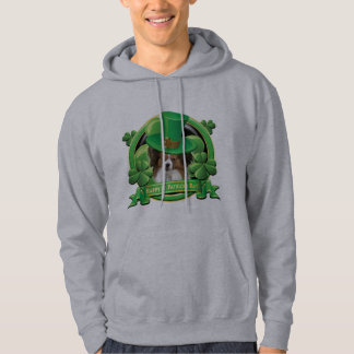 Happy St Patricks Day Papillon Hoodie