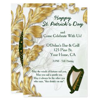 Happy St. Patrick's Day Party Invite