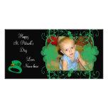 Happy St. Patrick's Day Photo Card