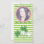 Happy St. Patrick's Day Photo Cards