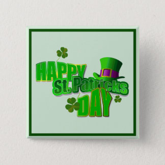 Happy St. Patrick's Day Pinback Button
