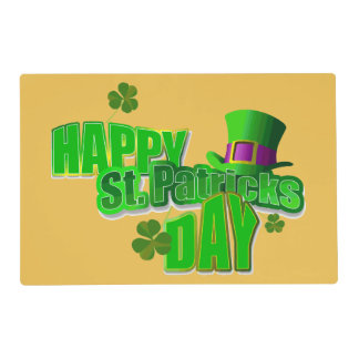 Happy St. Patrick's Day Placemats