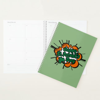 Happy St. Patrick's Day Planner