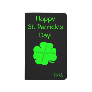 Happy St. Patrick's Day Pocket Journal