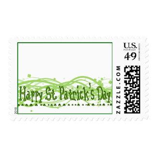 Happy St. Patrick's Day Postage