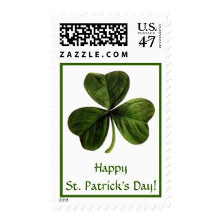 Happy St. Patrick's Day! Postage