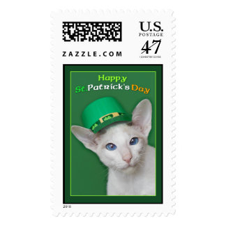 Happy St Patrick's Day Postage Stamp