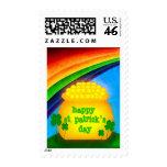 Happy St. Patrick's Day Postage Stamp