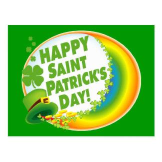 Happy St. Patrick's Day! Postcard