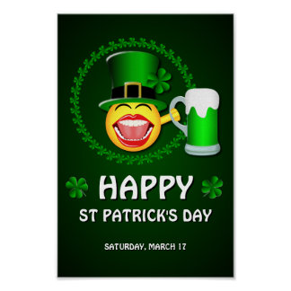 Happy St Patrick's Day Poster