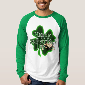Happy St Patrick's Day - Pot Of Gold T-Shirt