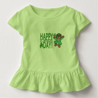 Happy St. Patrick's Day Ruffle Tee