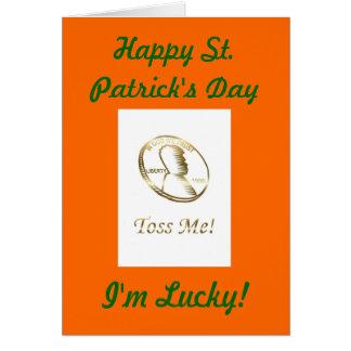 Happy St. Patrick's Day Saint Paddy Saint Patrick Card