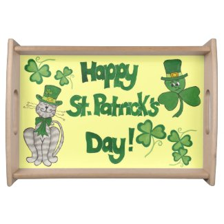 Happy St. Patrick's Day - Serving Tray