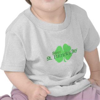 Happy St. Patrick's Day (Shamrock) Shirts
