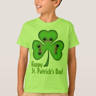 Happy St. Patrick's Day Shamrock T-Shirt