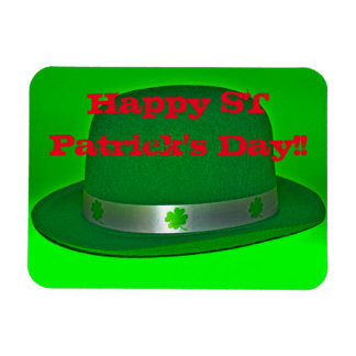 Happy ST Patrick's Day Square Magnet!! Magnet
