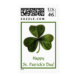 Happy St. Patrick's Day! Stamp