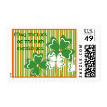 Happy St. Patrick's Day Stamp
