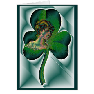 Happy St. Patrick's Day! Stationery Note Card