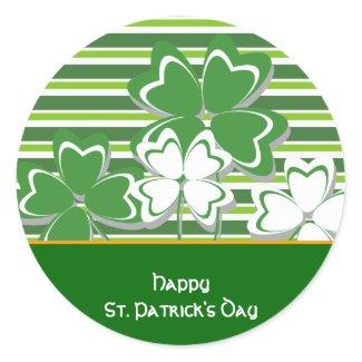 Happy St. Patrick's Day Sticker sticker