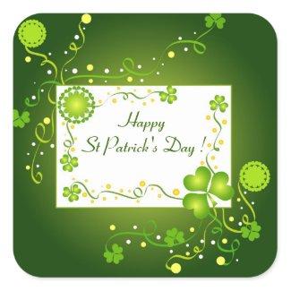 Happy St Patrick's Day ! sticker