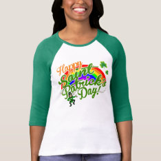 Happy St. Patrick's Day T-shirt at Zazzle