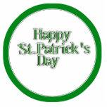 Happy St Patrick's Day Text Image Photo Cutout