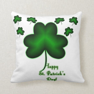Happy St. Patrick's Day! Throw Pillow