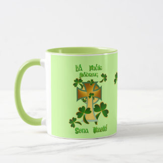 Happy St. Patrick's Day to you! Mug