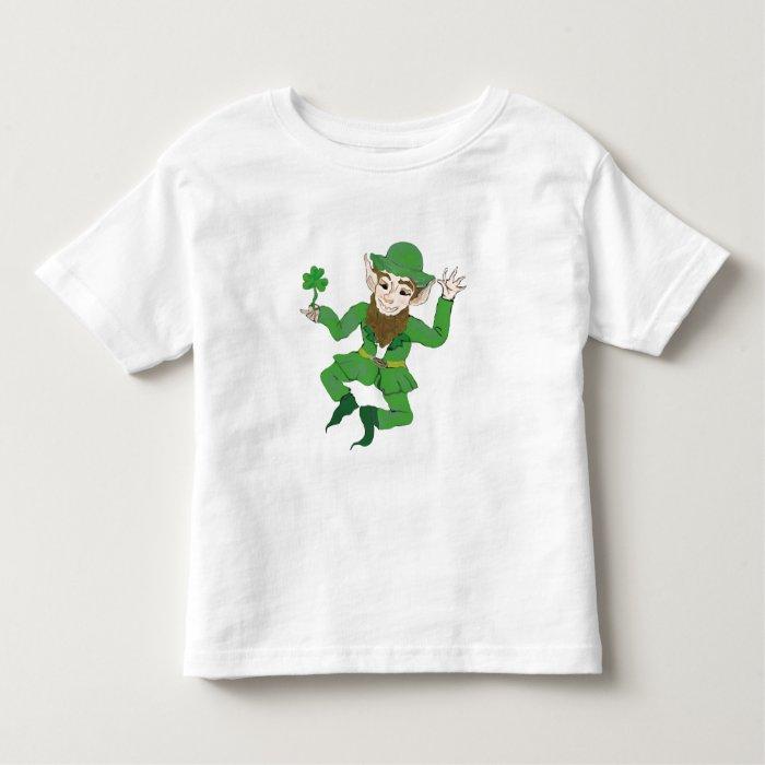 happy st patricks day toddler t-shirt