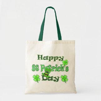 Happy St Patricks Day Tote Bag