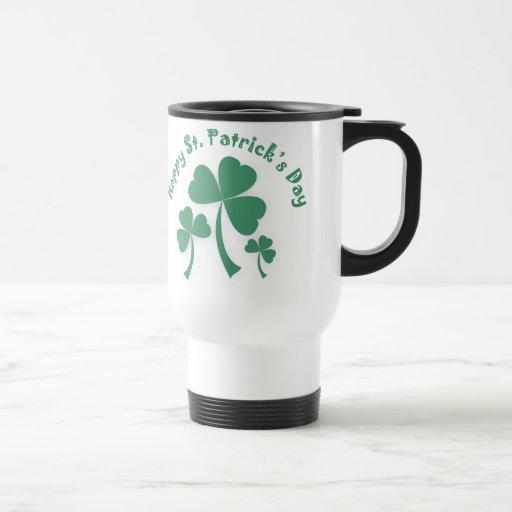 Happy St Patrick's Day Travel Mug