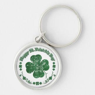 Happy St. Patrick's Day - vintage style Keychain