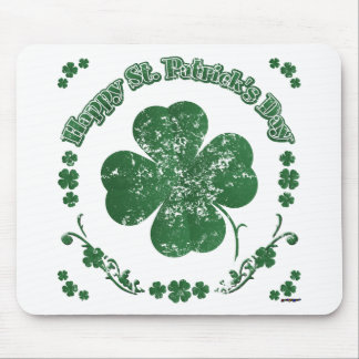 Happy St. Patrick's Day - vintage style Mouse Pad