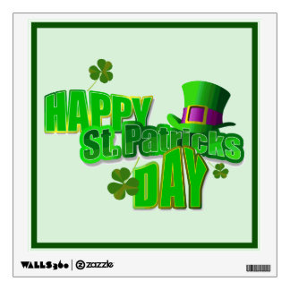 Happy St. Patrick's Day Wall Decal