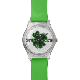 Happy St Patrick's Day Watches