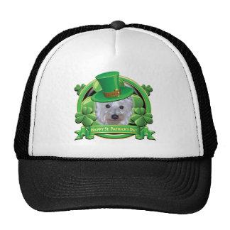 Happy St Patricks Day Westie Trucker Hat