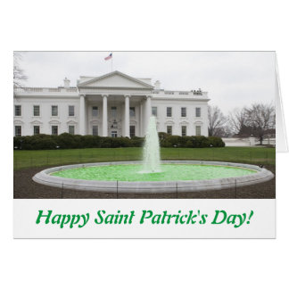 Happy St. Patrick's Day - WH Greeting Card